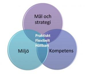 Skolutveckling tre cirklar